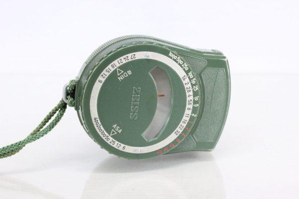 1950s60s Zeiss Cine Light Meter DIN ASA in case