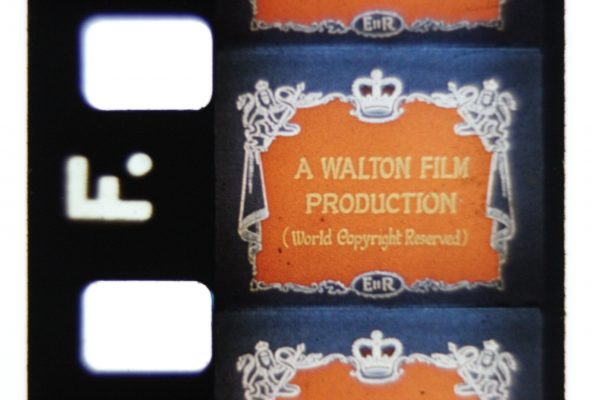 Coronation of Queen Elizabeth II - 8mm Walton Film On Reel