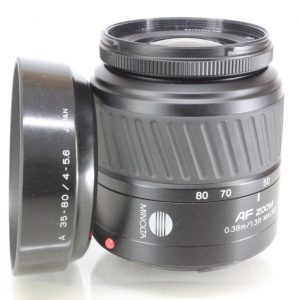 Minolta AF 35-80mm F4-5.6 Autofocus Zoom Lens - for Minolta & Sony Alpha A Mount Cameras
