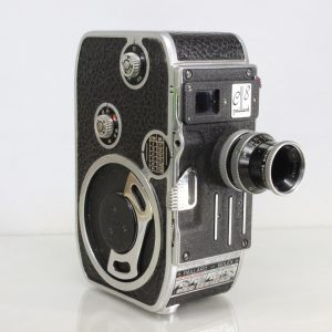 Paillard Bolex C8 Vintage 8mm Cine Movie Film Camera With YVAR 13mm f1.9 Lens