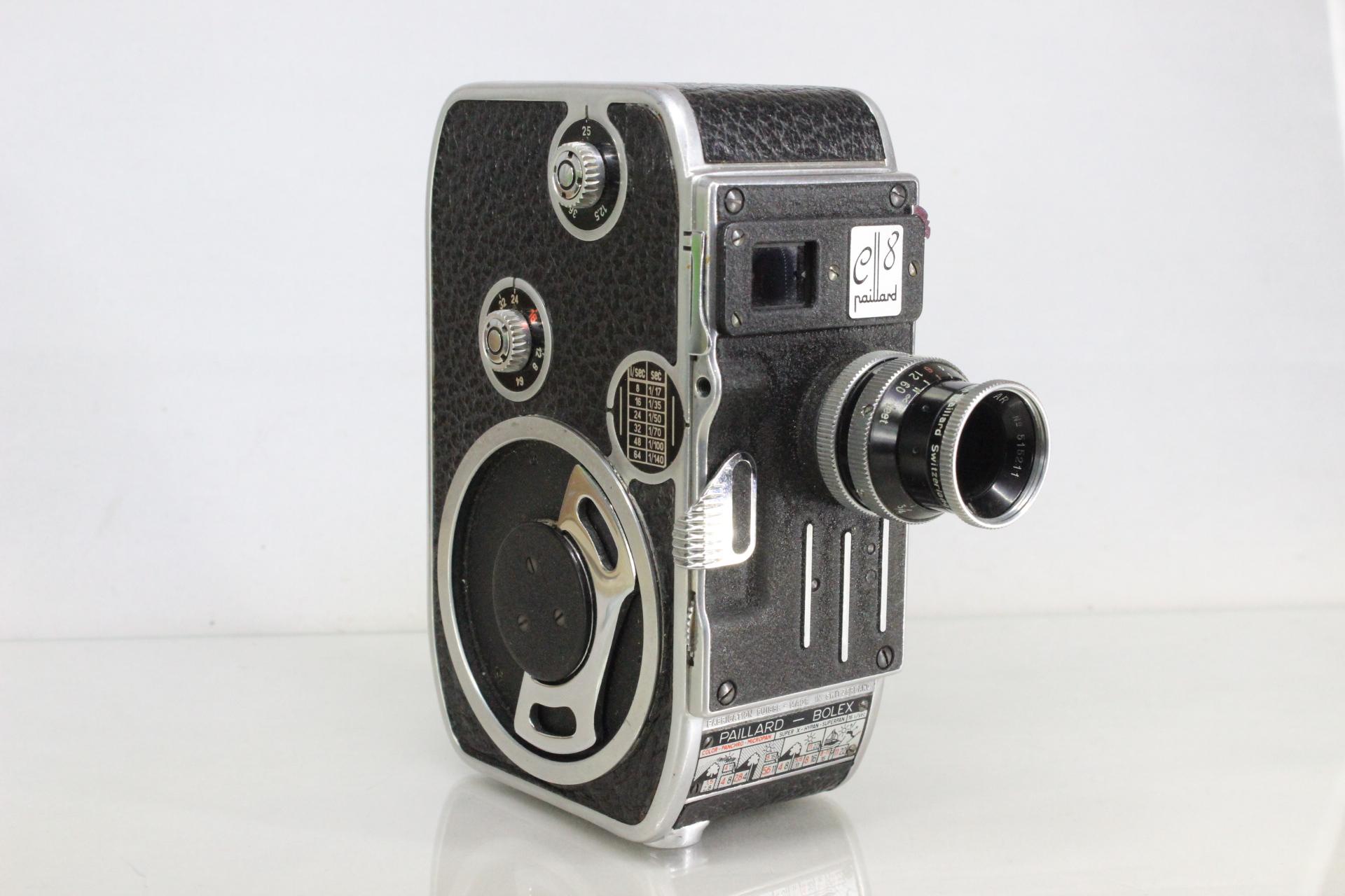 8Mm Vintage Camera paillard bolex c8 vintage 8mm cine movie film camera with