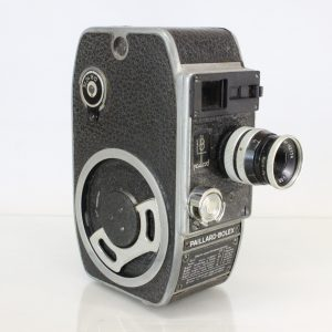 Paillard Bolex L8 Vintage 8mm Cine Movie Film Camera YVAR 12.5mm f2.8 lens With Focus Ring