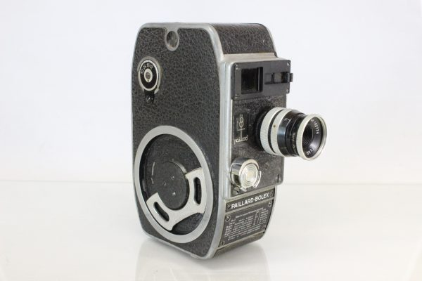 Paillard Bolex L8 Vintage 8mm Cine Movie Film Camera YVAR 12.5mm f2.8 lens With Focus Ring
