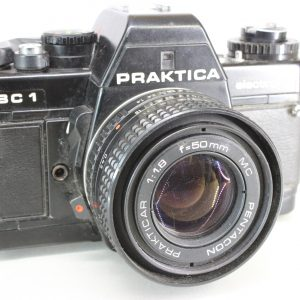 Praktica BC1 35mm SLR Film Camera With 50mm 11.8 Lens