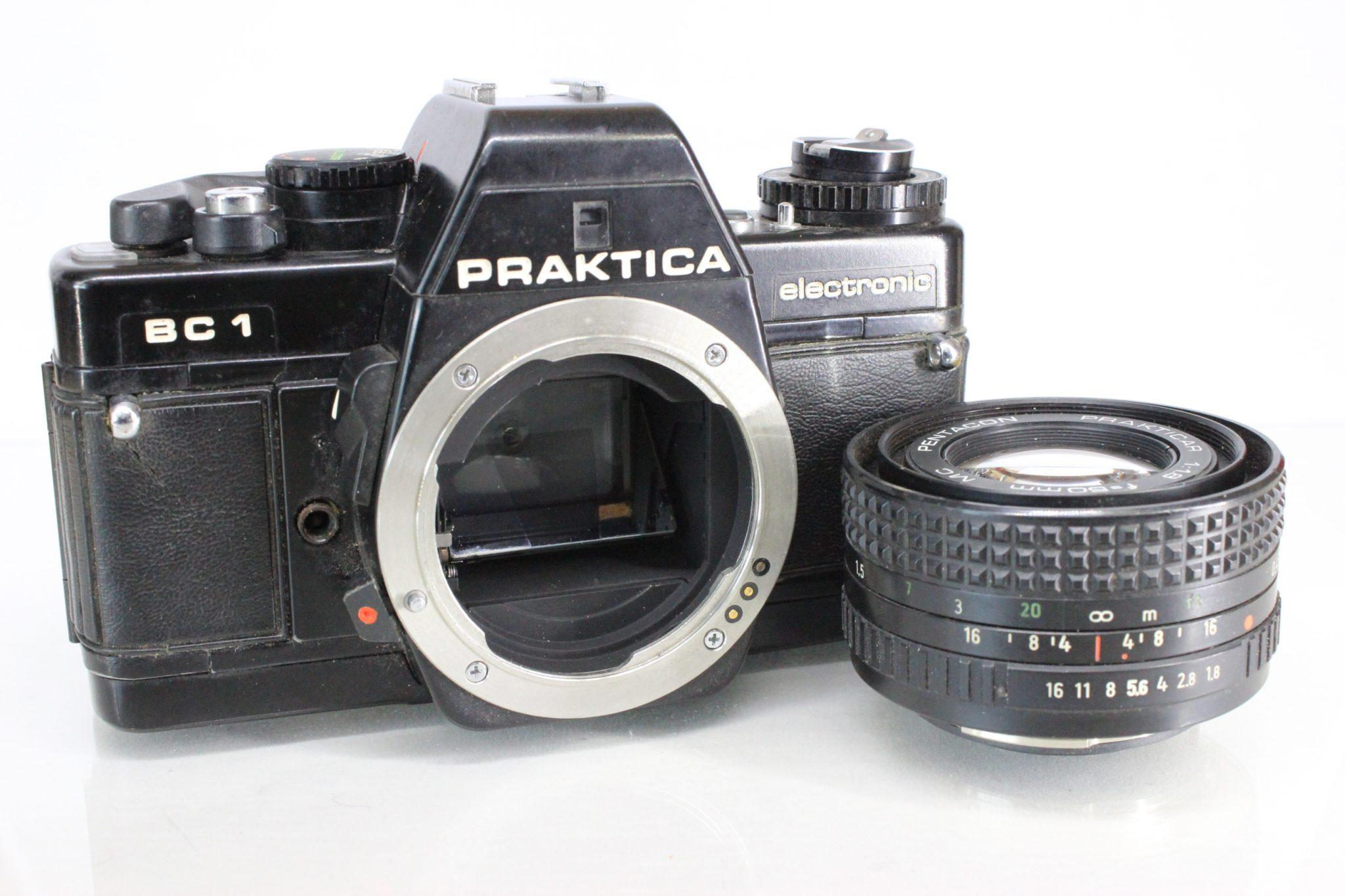Praktica bc1 35mm slr film camera with 50mm 1:1.8 lens photocapital