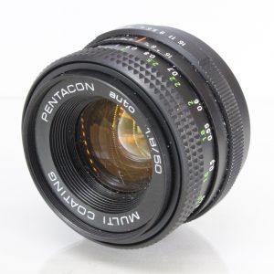 Praktica Pentacon Auto MC f1.8-50mm Lens M42 Fitting