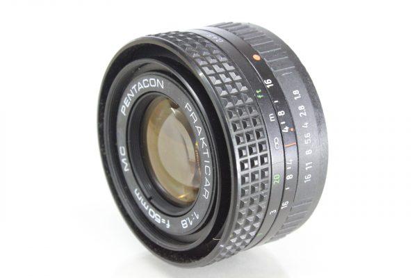 Praktica Pentacon Prakticar Auto MC f1.8-50mm Lens PB Mount