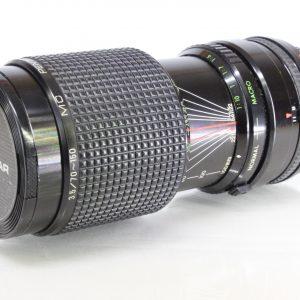 Praktica Pentacon Prakticar f3.5 70-150mm MC Macro Zoom PB Praktica Bayonet Lens