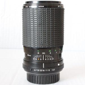 Sigma 80-200 f4.5-5.6 Zoom Lens - PK Bayonet