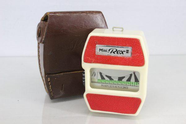 Vintage Mini Rex II Exposure Meter