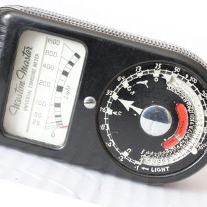 WESTON MASTER UNIVERSAL EXPOSURE METER 1939