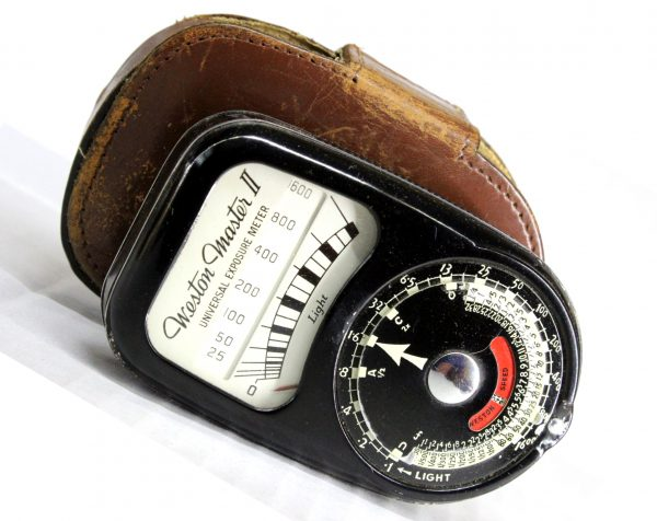 Weston Master II Light Meter Black With Original Leather Case