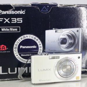 Panasonic Lumix DMC-FX35 White
