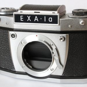 Exa 1a 35mm film SLR Camera Body With Waist Level Viewfinder