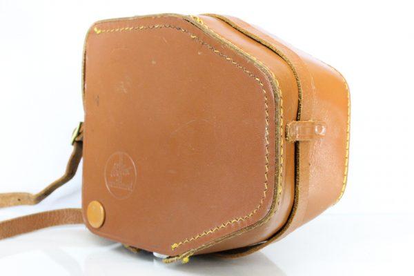 Excellent Paillard Bolex Vintage 8mm Cine Movie Film Leather Camera Case