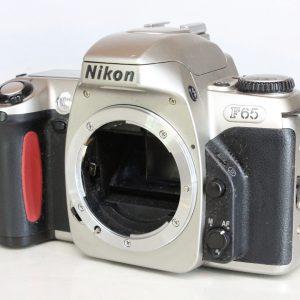 Nikon F65 35mm AF SLR Camera Body Silver