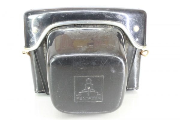Original All Leather Praktica Pentacon Camera Case for Vintage 35mm Film Camera