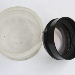 Paillard Bolex Skylight UV Filter & Lens Hood For 8mm Movie Cameras
