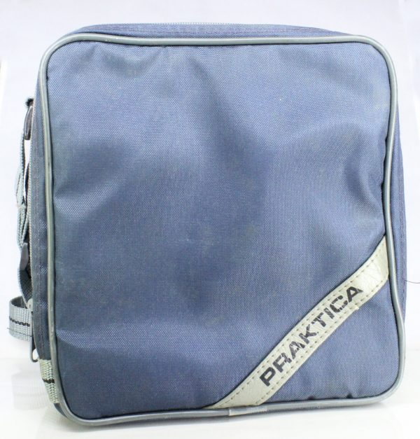 Praktica Camera Case - Blue - With Adjustable Shoulder Strap