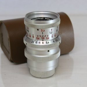 Steinheil Munchen Cassar f35 36mm Lens For Vintage Movie Camera D-mount Lens