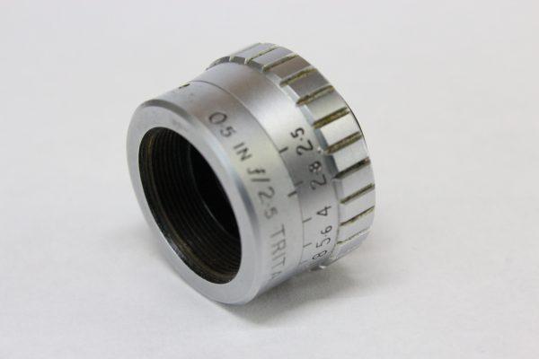 Taylor Taylor & Hobson 0.5in f2.5 Trital D-Mount 8mm Cine Lens - 1950s