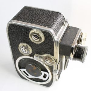 Vintage Paillard Bolex B8-L Film MovieCine 8mm Camera With Yvar 1.813mm Lens
