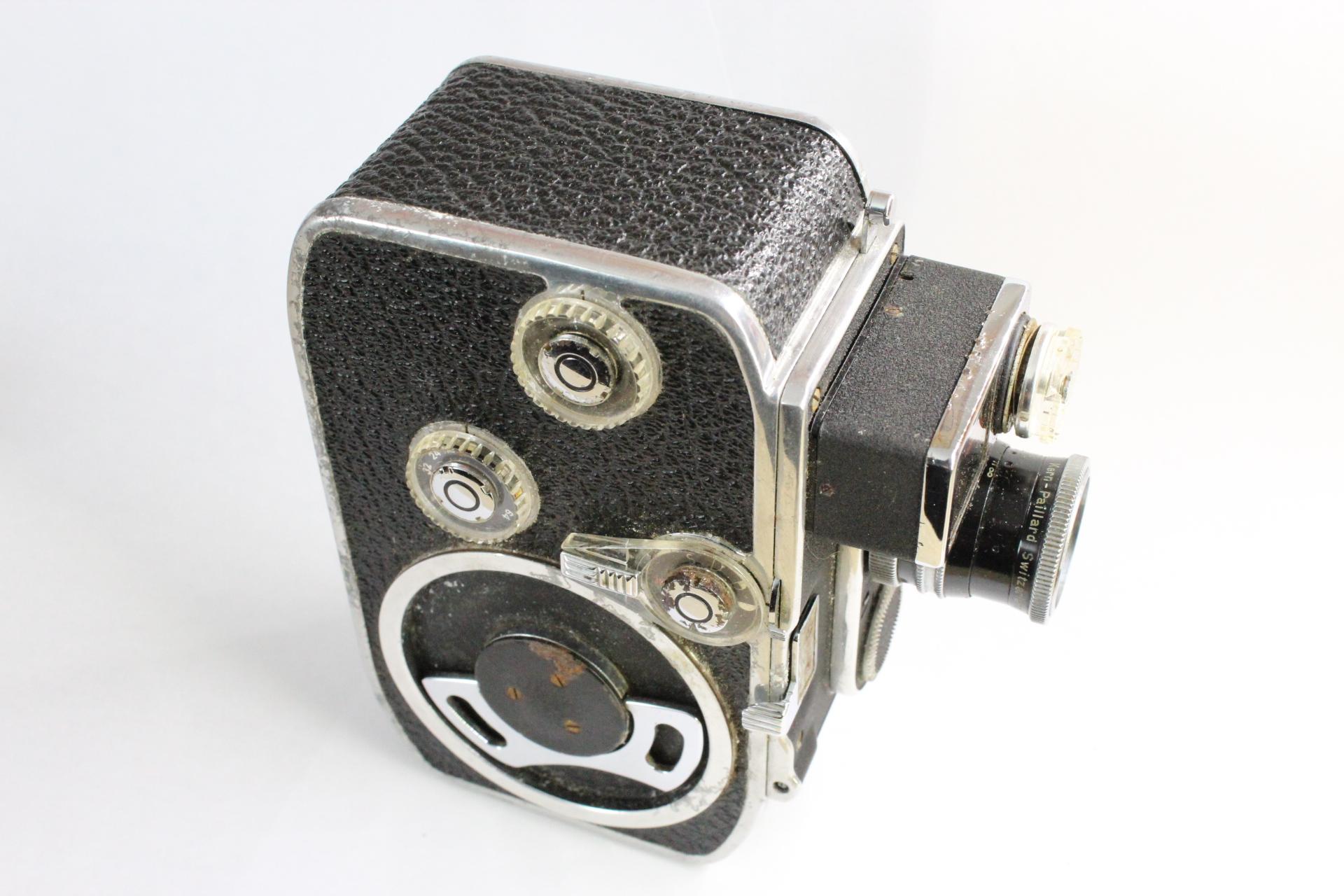 paillard bolex b8 l film movie cine 8mm camera with yvar 1 8 13mm lens photocapital. Black Bedroom Furniture Sets. Home Design Ideas