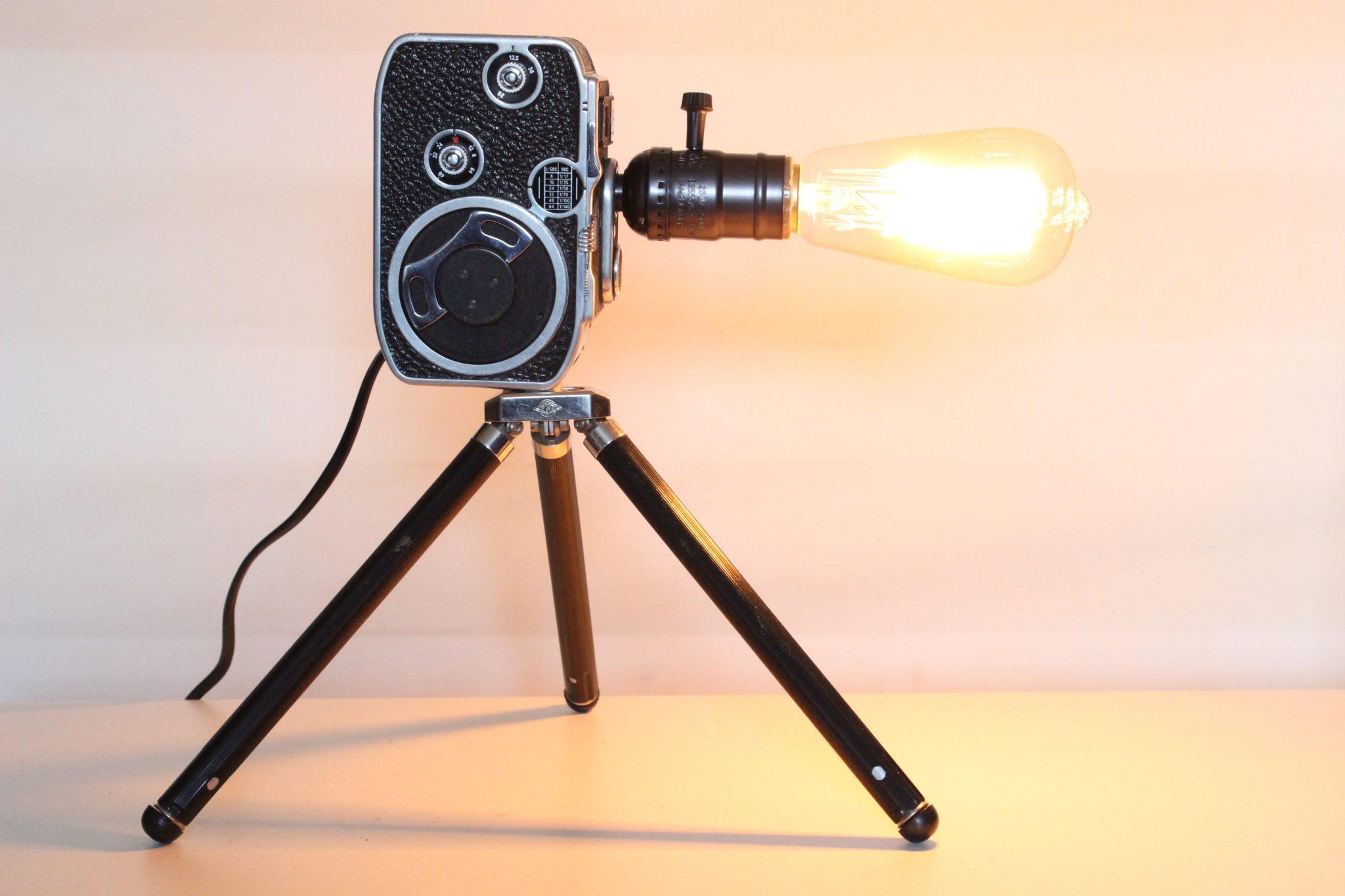 movie camera desk lamp | eBay