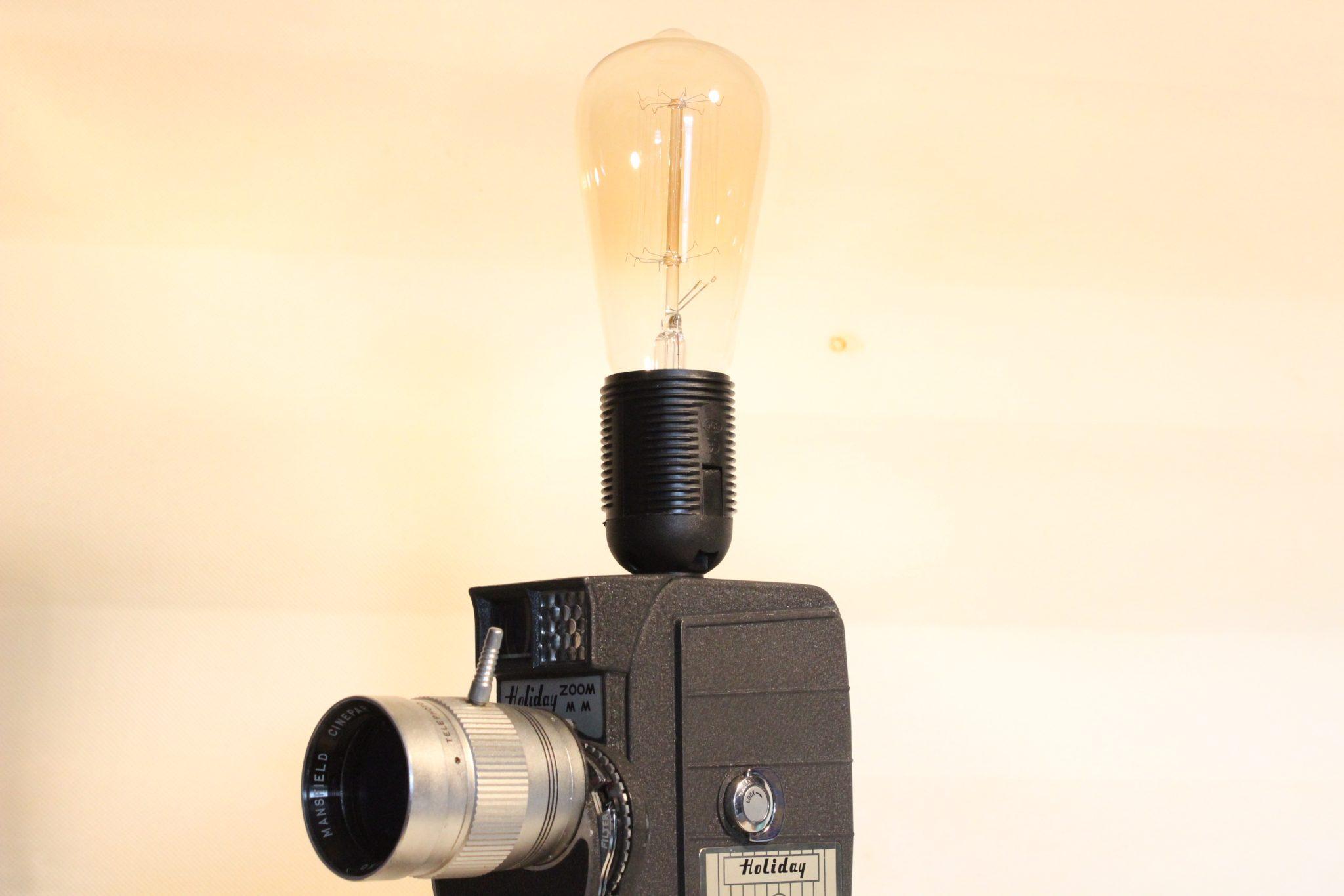 Industrial Steampunk Desk Lamp Metal Pipes Vintage Edison Bulb LED ...