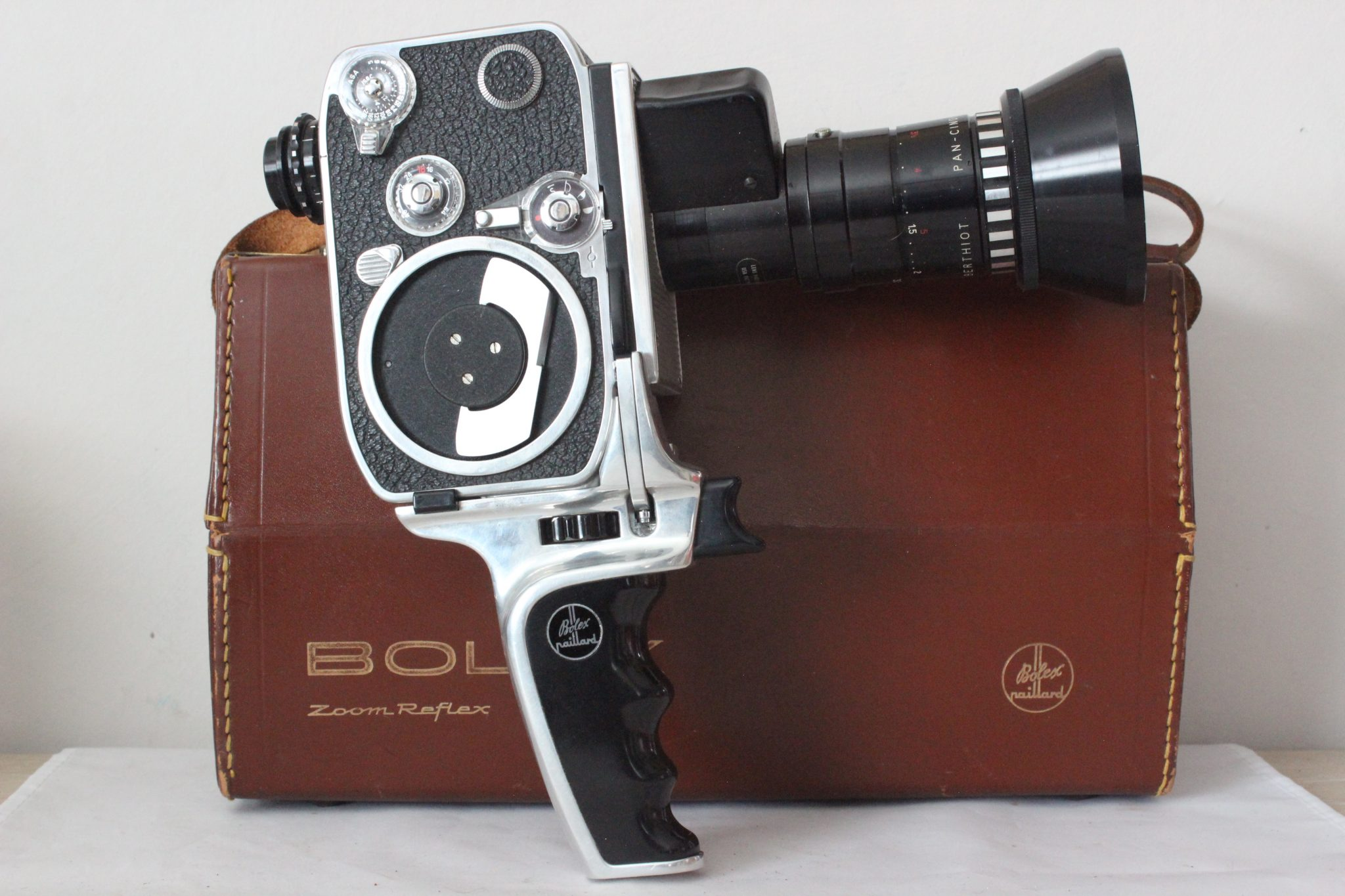 Paillard Bolex P2 8mm Movie Camera ...